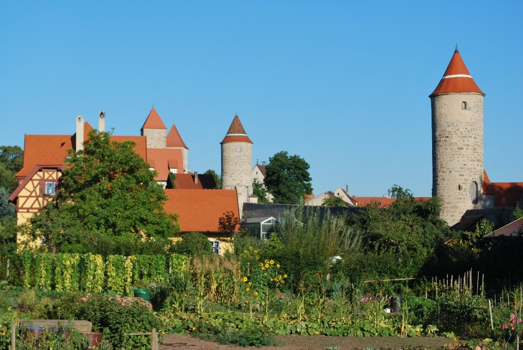 The cityscape of Dinkelsbuel has remained virtually unchanged for more than 500 years. Photo by Ingrid Wenzel.