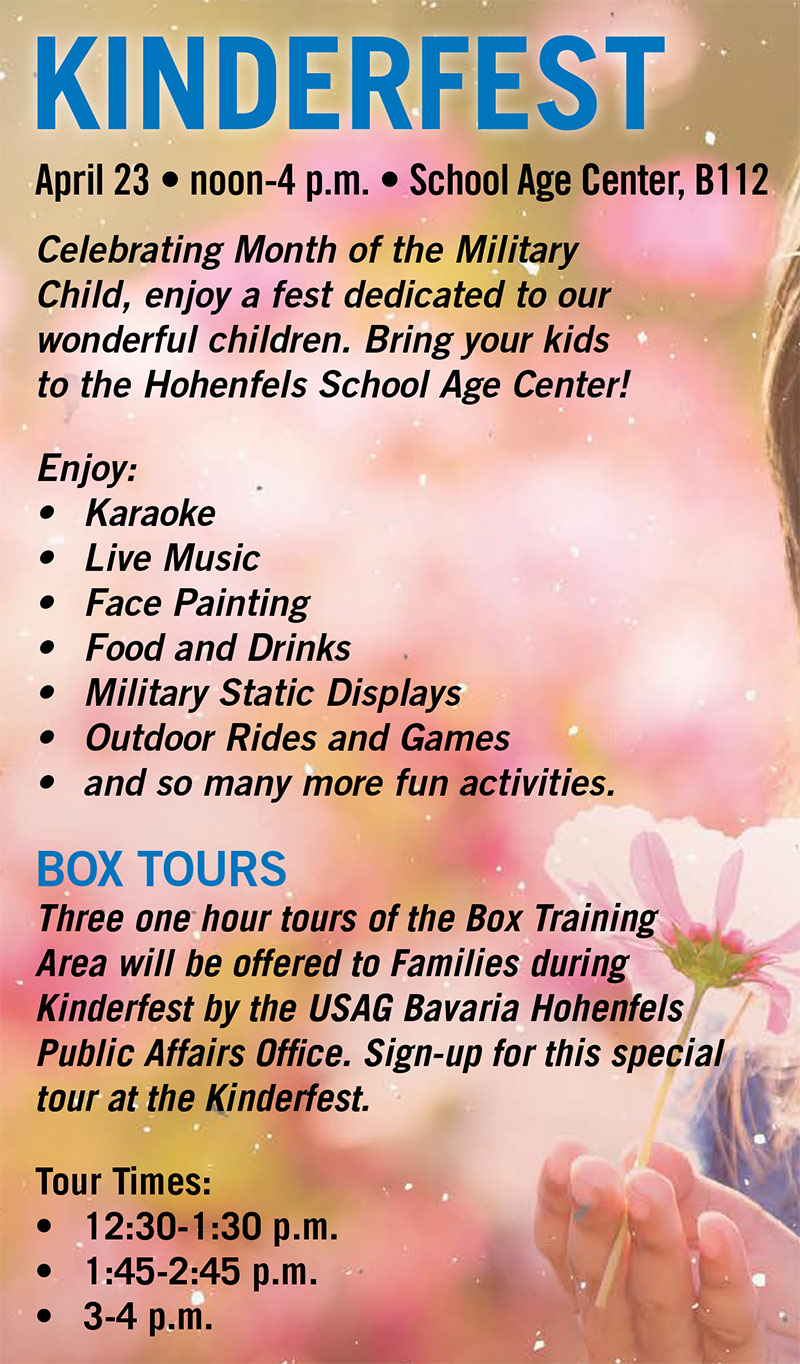 Month of the Military Child - Hohenfels Kinderfest
