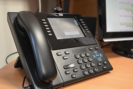 New VoIP phone