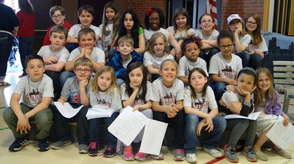 Grafenwoehr Elementary School presents Annie the Musical