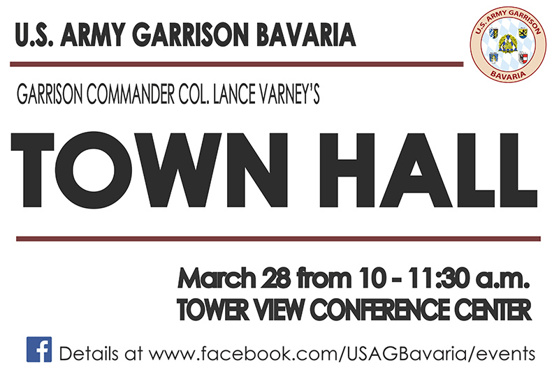 USAG Bavaria Garrison Commander hosts town hall